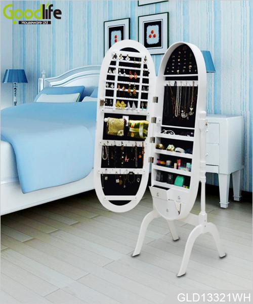 Caldaia a basamento ovale armoire gioielli specchio per camera da letto - Specchio ovale camera da letto ...