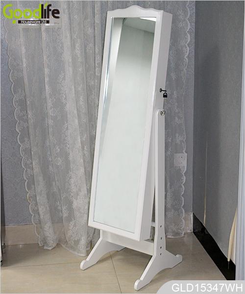 Vendita calda goodlife legno gioielli armadio a specchio gld15347 - Armadio specchio gioielli ...