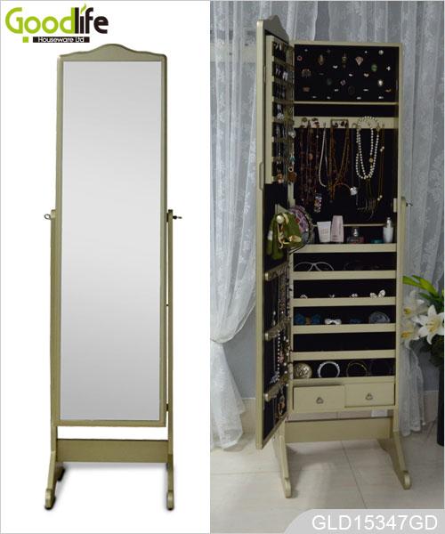 Gioielli armadio a specchio con la pittura nc - Armadio specchio gioielli ...