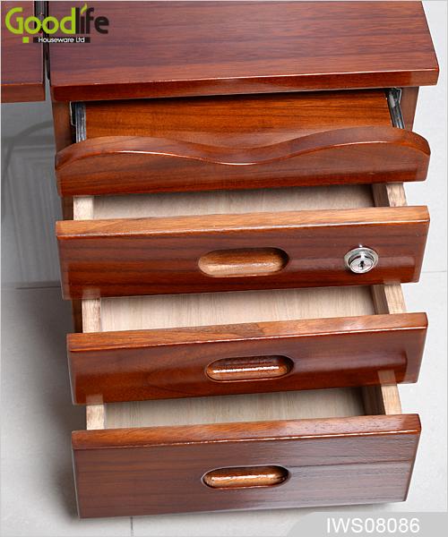 Muebles de madera plegable mesa plegable mesa de ordenador - Muebles de ordenador ...