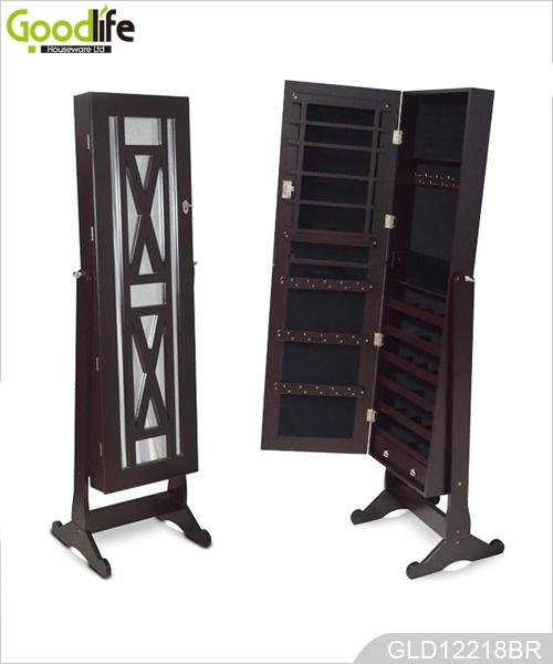 miroirs armoire de bijoux debout new vie du produit. Black Bedroom Furniture Sets. Home Design Ideas