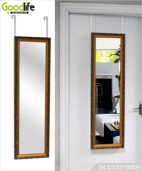 holz ber der t r spiegel schmuckschrank. Black Bedroom Furniture Sets. Home Design Ideas