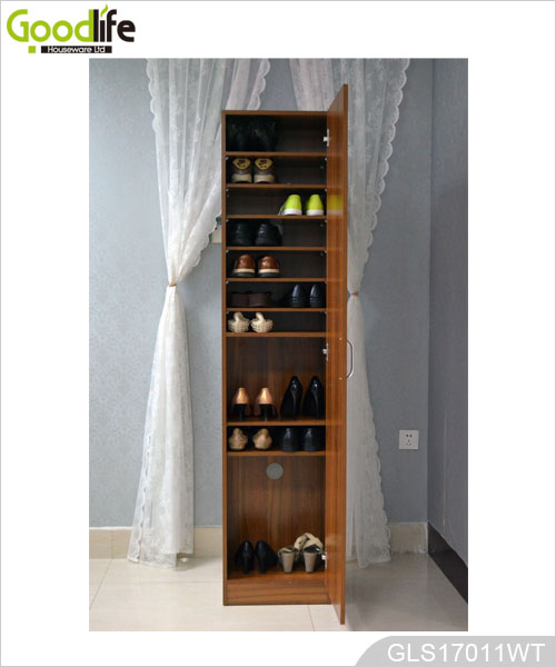 Wholesale Tall Wooden Shoe Storage Cabinet