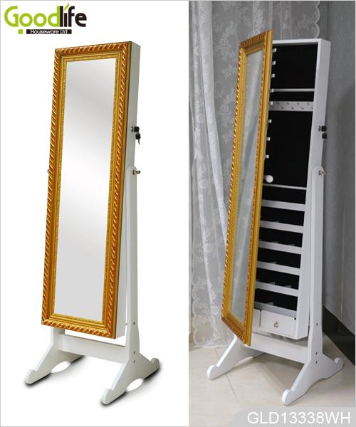 gen gend vorrat f r schnelle lieferung holzspiegel schmuck schrank. Black Bedroom Furniture Sets. Home Design Ideas