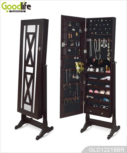 Miroirs armoire de bijoux debout new vie du produit - Espejos grandes ikea ...
