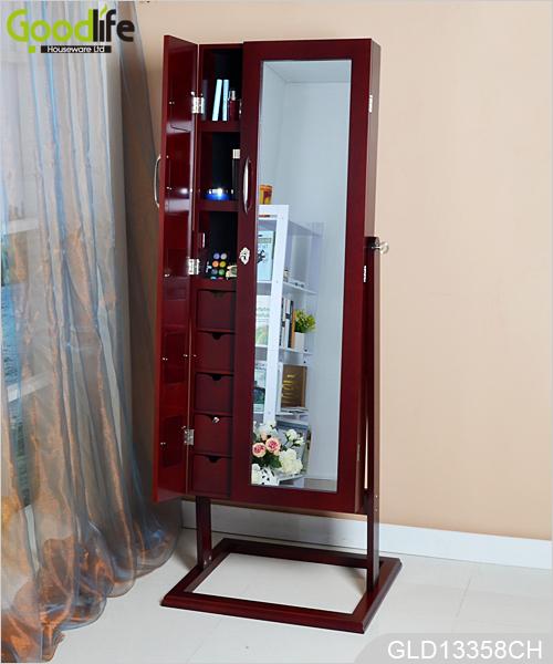 Da posizionare sul pavimento di legno gioielli armadio a specchio - Armadio specchio gioielli ...