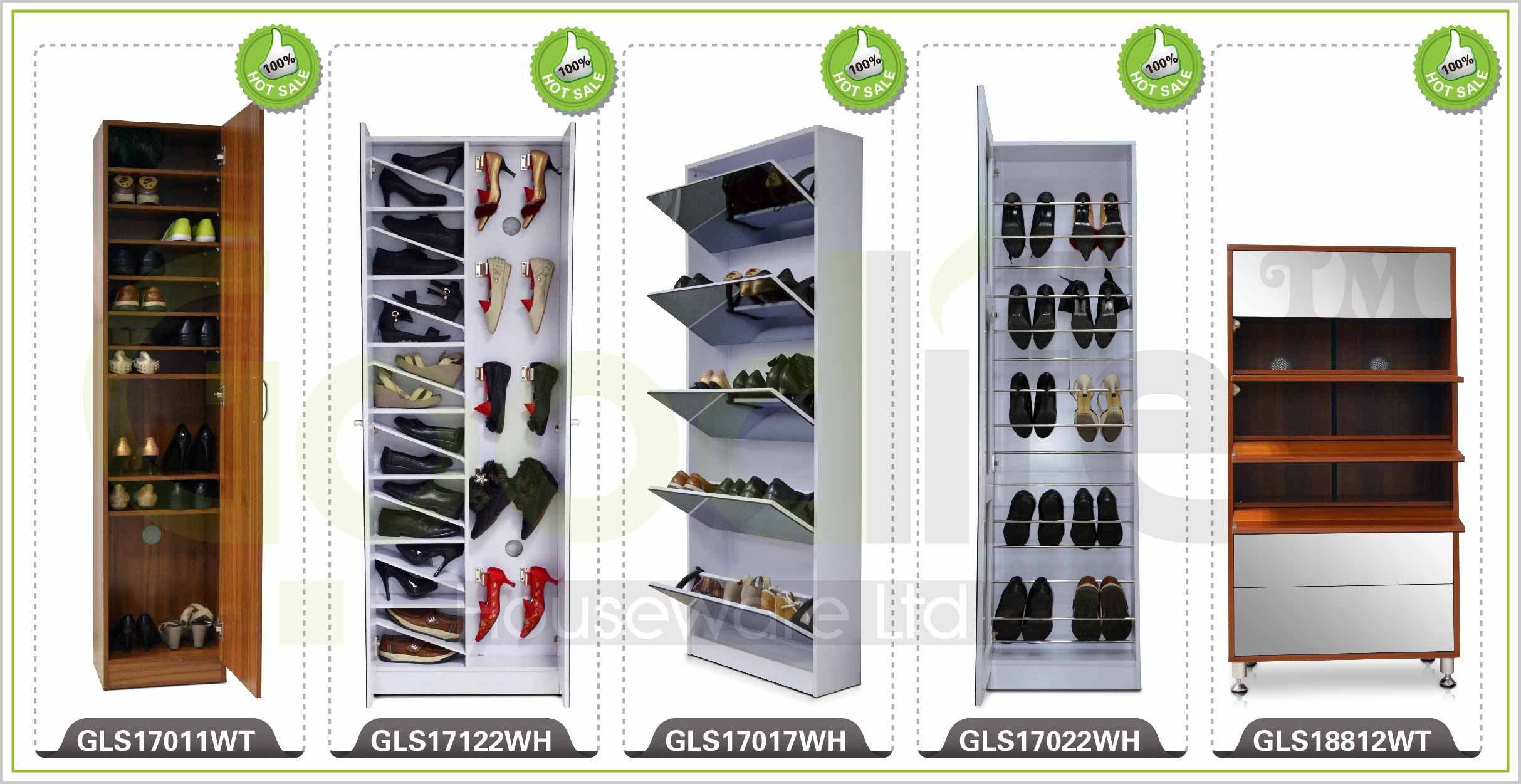 Tall Mirrored Shoe Cabinet With Mirror And Hook For Bag