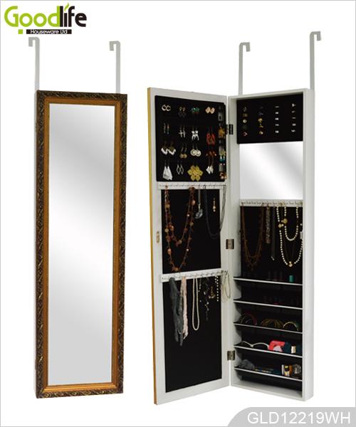 spiegel aus holz schmuck schrank mit wand funktion. Black Bedroom Furniture Sets. Home Design Ideas
