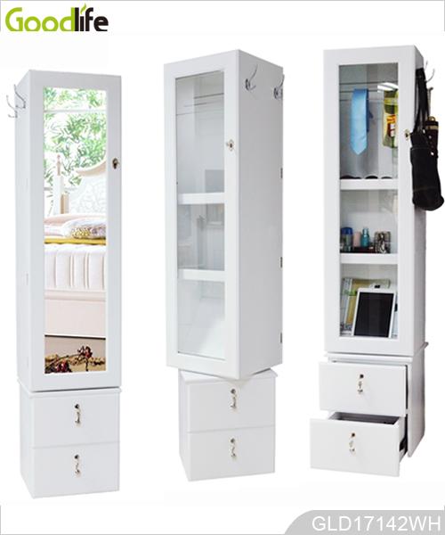 drehspiegelschrank mit schublade und fotowand. Black Bedroom Furniture Sets. Home Design Ideas