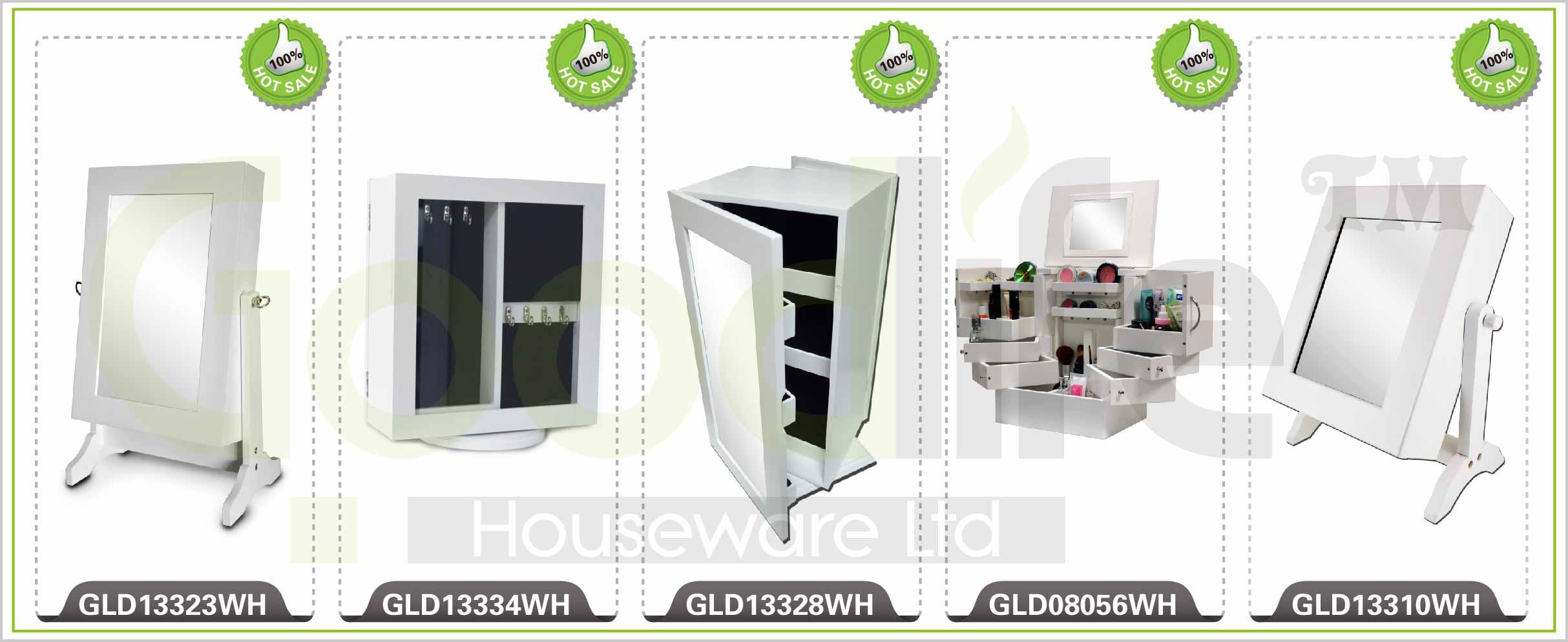 gld12211 armoire bijoux avec miroir l 39 int rieur. Black Bedroom Furniture Sets. Home Design Ideas