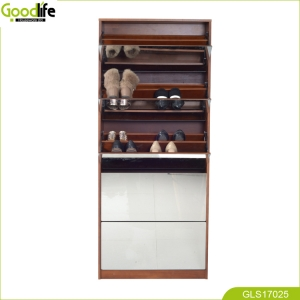 2018 home storage cabinet modern simple new design solid wood shoe cabinet durable multi-function luxury