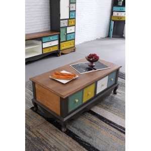 2019 New design luxury tea storage table coffee table wholesale