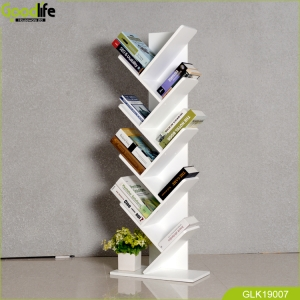 2019 best seller wooden home furniture book shelf  for reading home modern and fashion furniture GLK19007