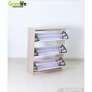 3 layer cabinets for shoes organizing and storage GLS17116