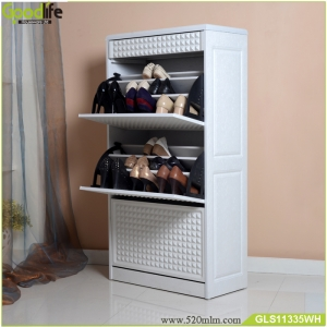 4 layers with a drawer shoe cabinet GLS11335