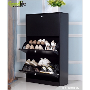 Amazon ebay best seller shoe holder wooden shoe storage cabinet shoe rack GLS18803A
