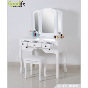 Bedroom furniture modern makeup table makeup vanity table wholesale GLT18103