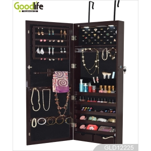 Big mirror jewelry cabinet dressing standing mirror GLD12225