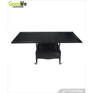Black multi-function wooden table made in China