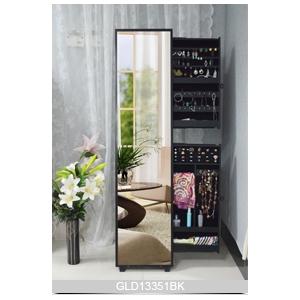 Usine de meubles en bois miroir porcelaine armoire bijoux - Miroir range bijoux pas cher ...