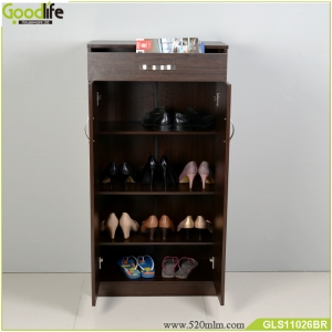 Cheaper shoe cabinet storage shoes with a drawer GLS11026