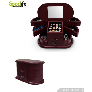 China classical style wooden jewelry box furniture from Shenzhen