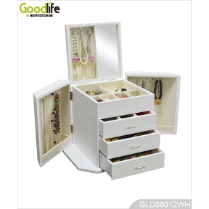 China mirrored furniture manufacturer wooden jewelry box