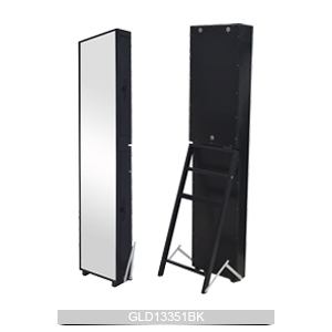 chine armoire bijoux miroir prix bas avec porte lat rale. Black Bedroom Furniture Sets. Home Design Ideas