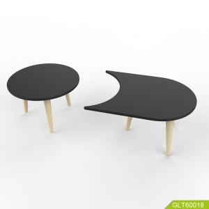 Chinese Leisure Simple Furniture Modern MDF Tea/Coffee table can be divided into two parts