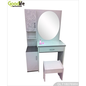Chinese furniture wooden makeup table with mirror GLT18076