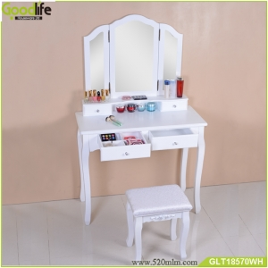 Dressing and Makeup Case french furniture  with drawers from China supplier GLT18570