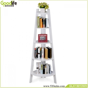 Eco-friendly elegant shelf use for books things storage saving place convenient reader to collect and use