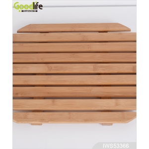 Fangle Teak wooden mat for protect bathing  IWS53366