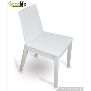 French style modern luxury wood chair