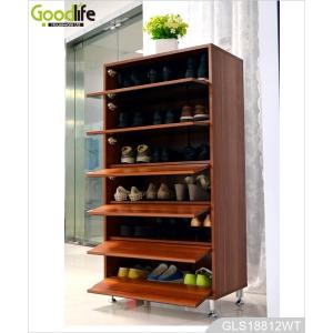 Sapateira moderna para 30 pares sapatos for Guarda zapatos en madera