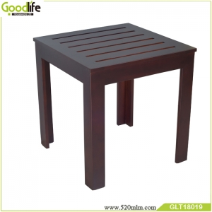GLT18019A wooden coffee table set with waterproof Mahogony material wood tea table