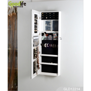 GOODLIFE Black mirror jewelry cabinet bedroom furniture set GLD12214