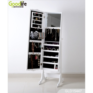 GOODLIFE Black mirror jewelry cabinet bedroom furniture set GLD15447