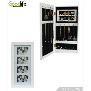 High quality exotic living room jewelry cabinet with photo frames from China
