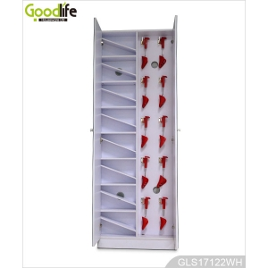 Hot Sale 2-door Shoe Storage Cabinet with Full Length Mirror GLS17122