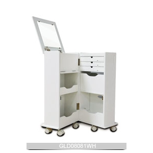 Hot sale goodlife multiple function wheeled wooden storage for Furniture 08081