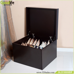 chinese supplier hot sale custom high quality wooden shoe box with drawer flip cover nice idea. Black Bedroom Furniture Sets. Home Design Ideas