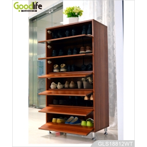 Living room cabinet wood shoe storage cabinet from china factory