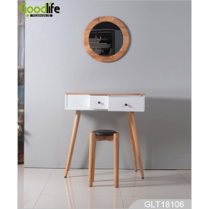 MDF dressing table with stool