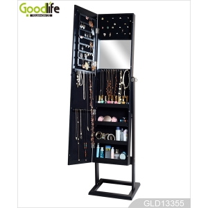 Makeup application or jewelry organization rack GLD13355