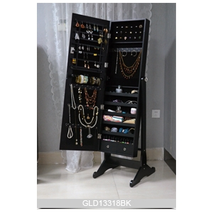 middle east hot style amazon standing mirrored jewelry cabinet On standing mirror jewelry armoire amazon