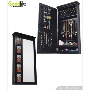 Mirrored furniture Guangdong jewelry cabinet mirror with photo frames