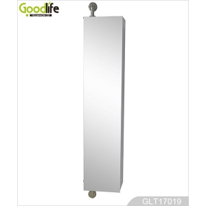 Modern design wall-mount 360 degree rotating bathroom storage cabinet GLT17019