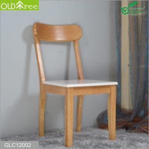 Modern simple new design solid wood chair with backrest for kid studying relax and hotel chair