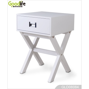 Multi-function storage shelves with drawers makeup table GLD08084